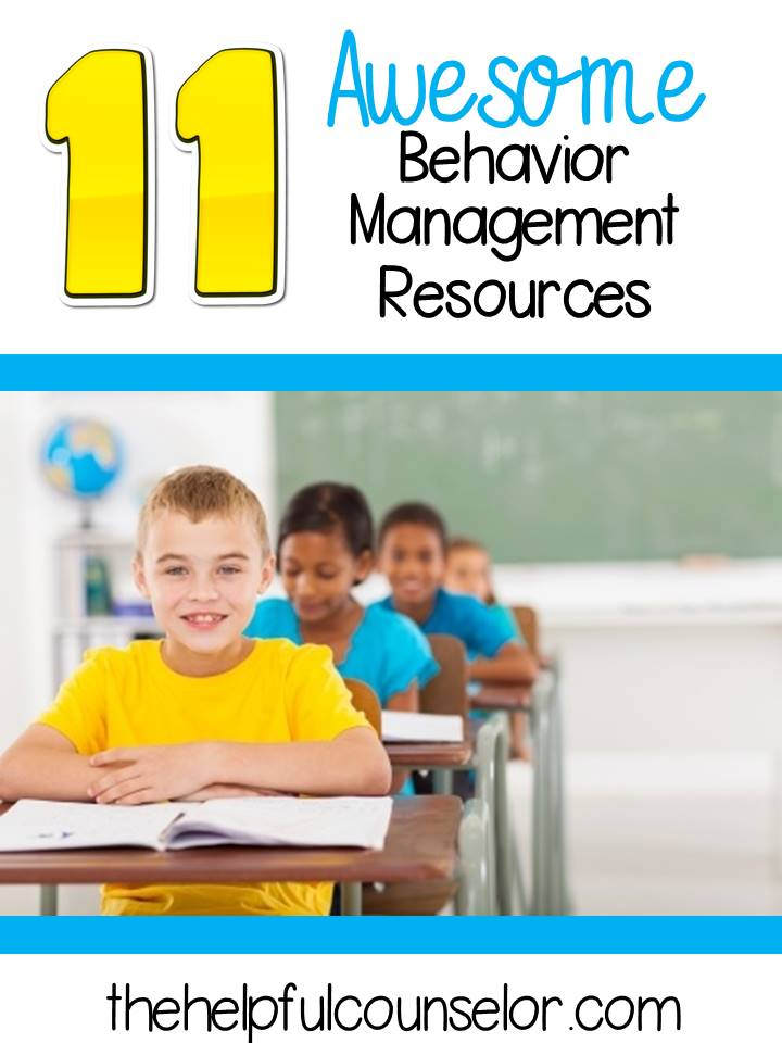 11 Awesome Behavior management resources