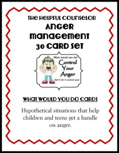 Anger Management Card Deck