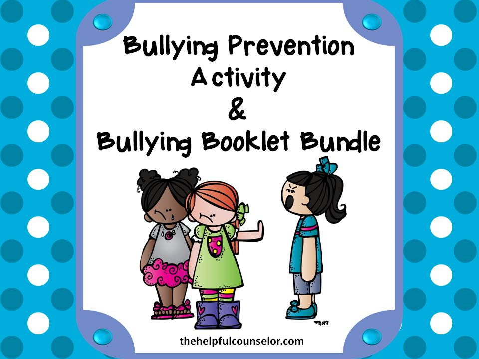 Bullying Prevention Activities Coloring Pages