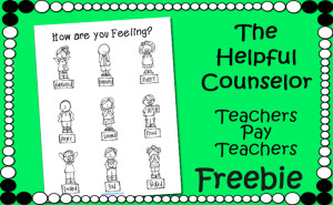 Free Feelings Coloring Page elementary counseling