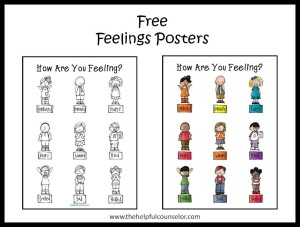 Free Feelings Posters Emotional Intelligence