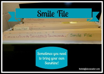 Elementary Counseling Self-Care Smile File