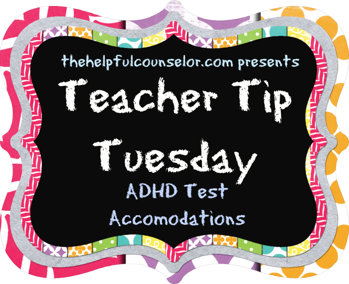 ADHD Testing Accomodations