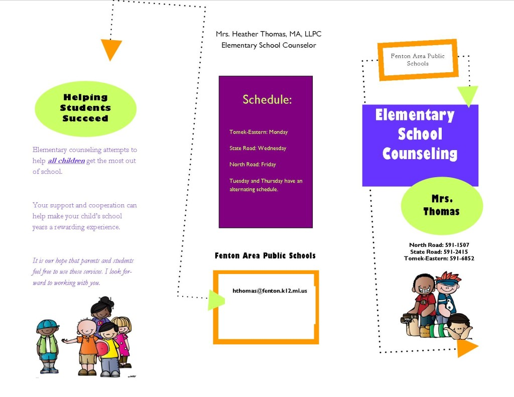free download elementary school counseling brochure
