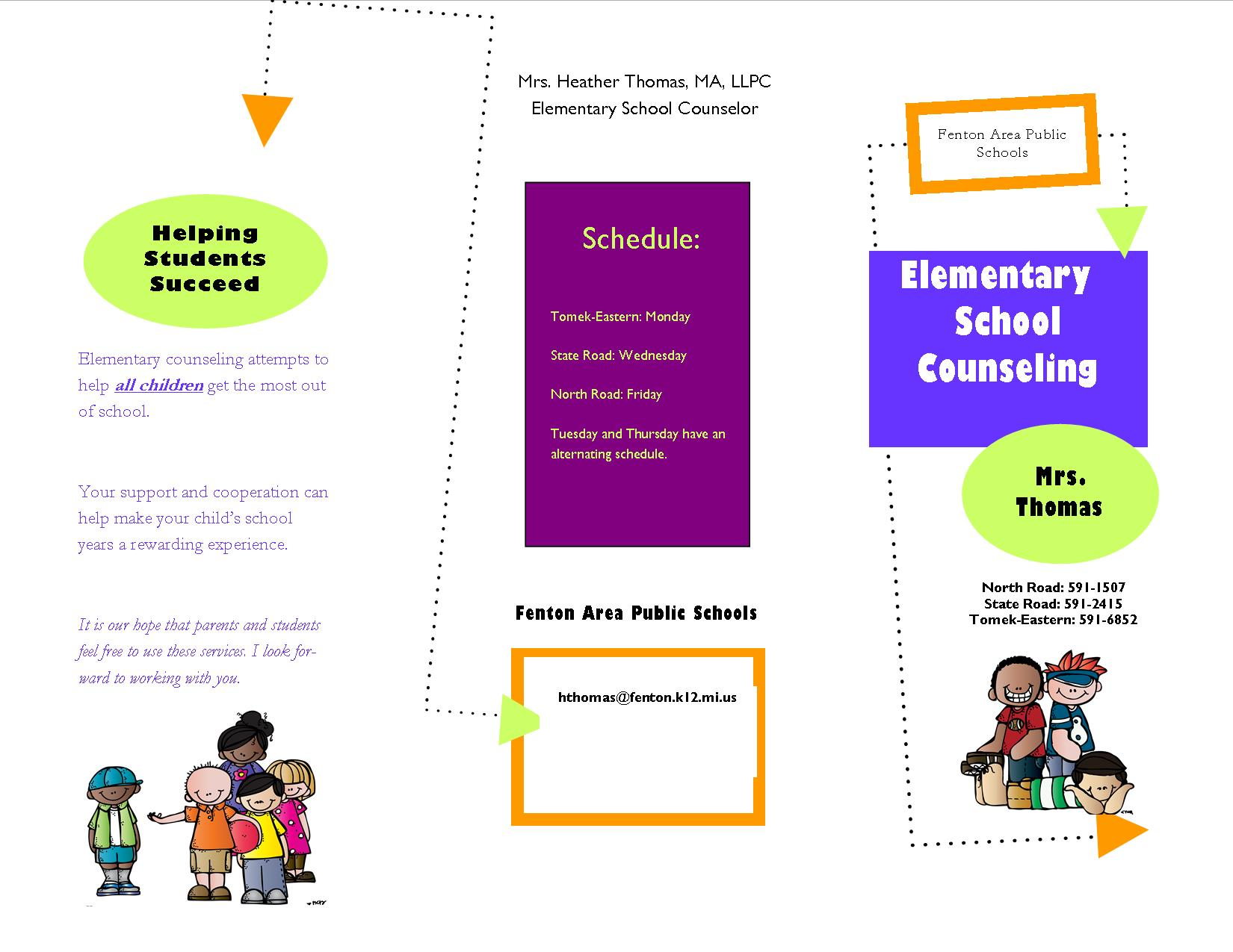 Group counseling group counseling high school for Counseling brochure templates free