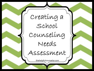 School Counseling Needs Assessment Blog Post