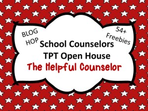 TPT School Counselor Blog Hop The Helpful Counselor