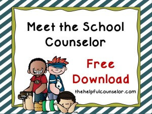 Elementary School Counselor Intro Free Download