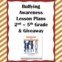 Bullying Prevention Awareness Lessons and a Giveaway!