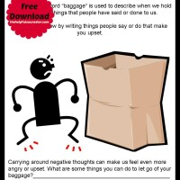 Emotional Baggage – Free Printable