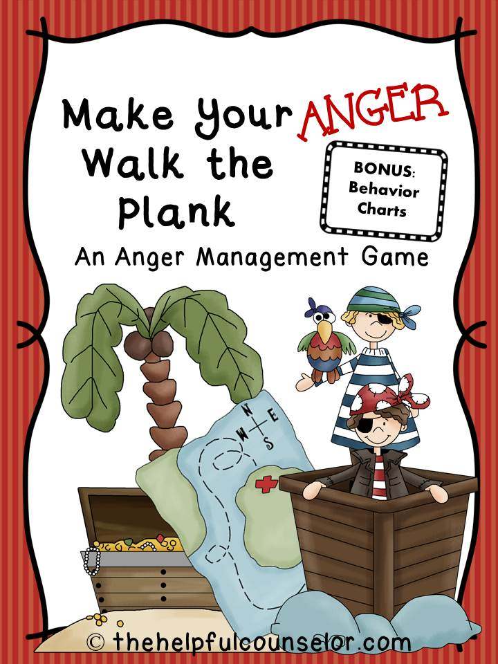 Anger Management Game and Free Behavior Charts