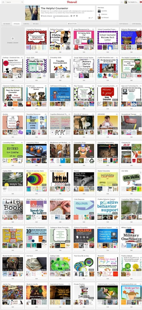 Elementary counseling activities on Pinterest