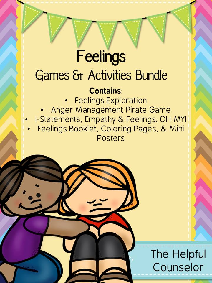 Feelings Game and Activity Bundle
