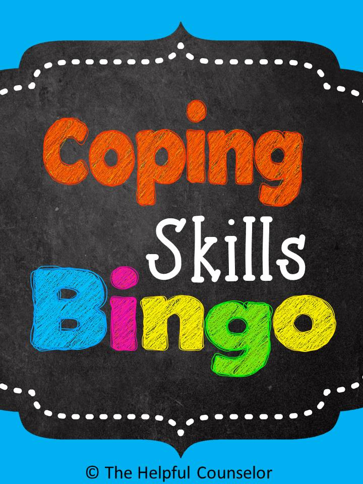 Coping Skills Bingo Game