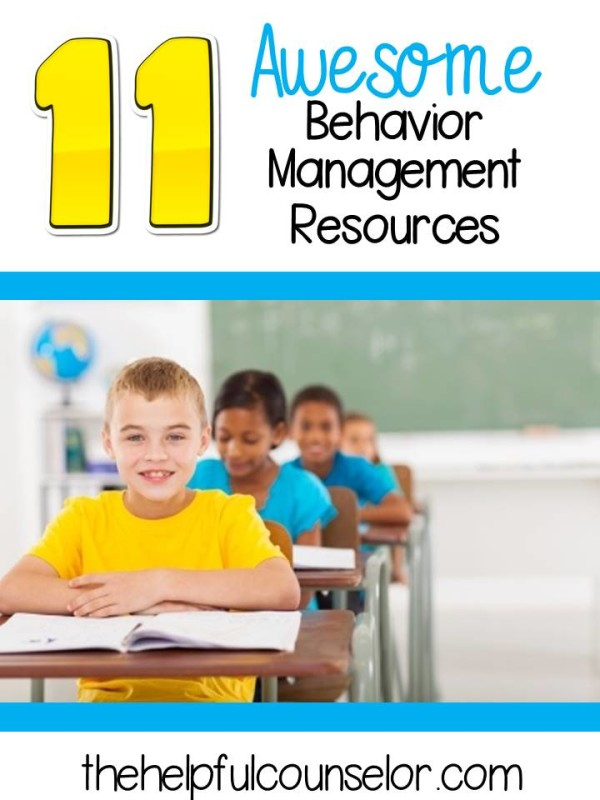 Collection of FREE behavior management resources for elementary