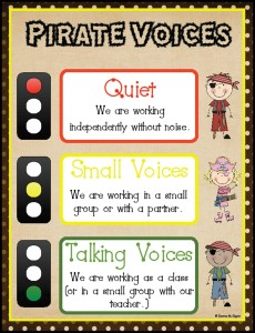 Noise Level Meter - Pirate Voice Printable