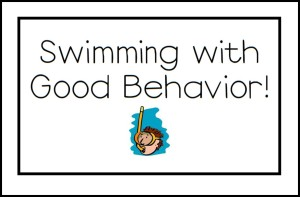 Swimming with Good Behavior