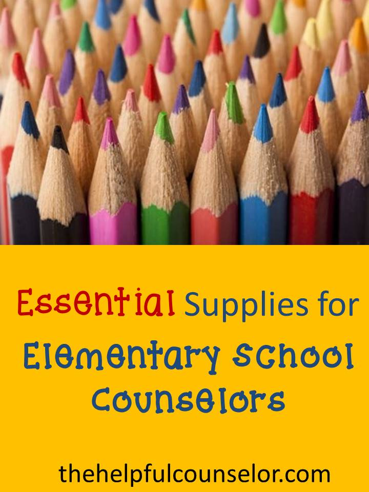 supplies for elementary counselors