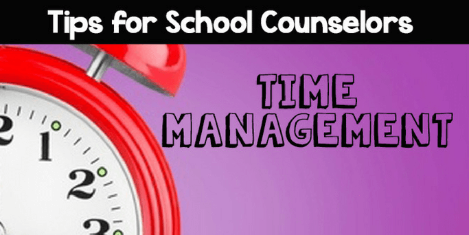 Time Management for School Counselors