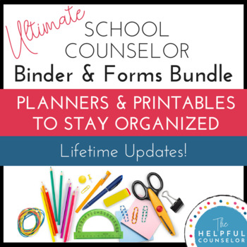School Counseling Binder