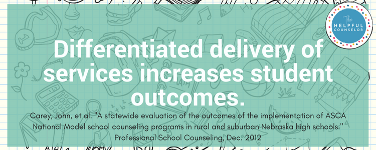 Change up delivery of services increases student outcomes